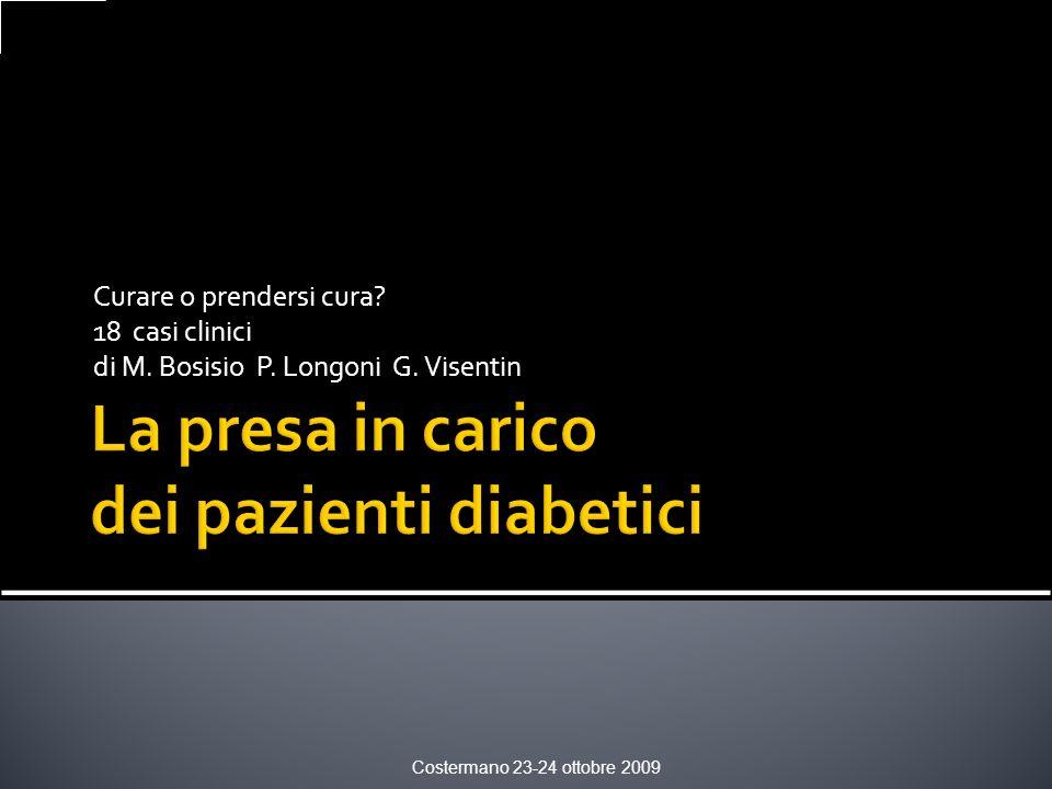 La presa in carico dei pazienti diabetici