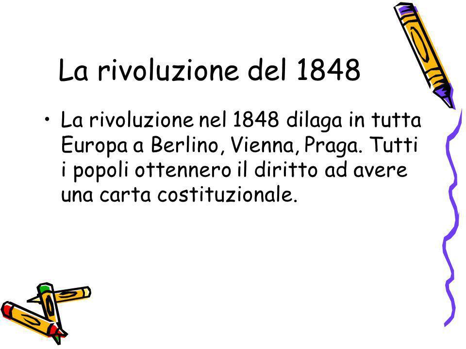 La rivoluzione del 1848
