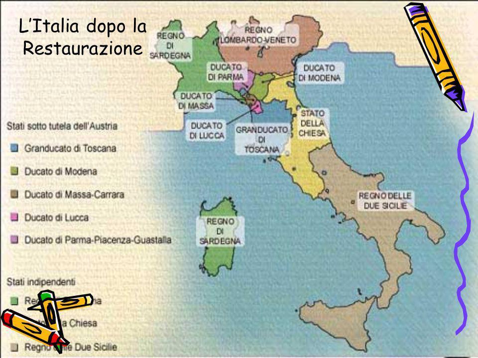 L'Italia dopo la Restaurazione