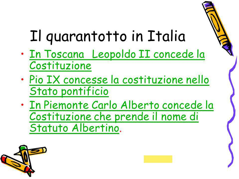 Il quarantotto in Italia