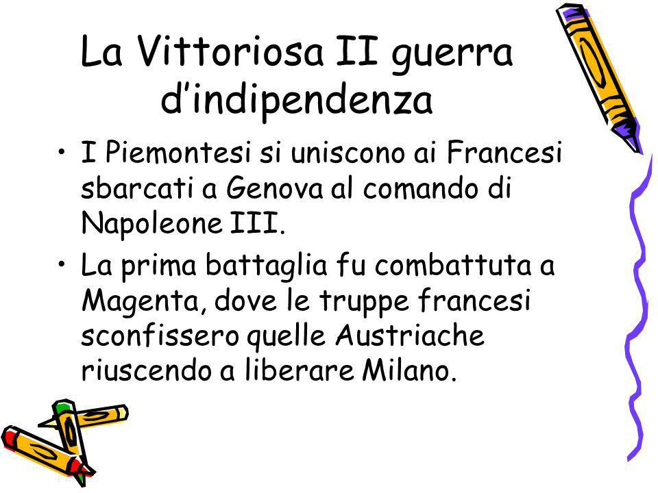 La Vittoriosa II guerra d'indipendenza