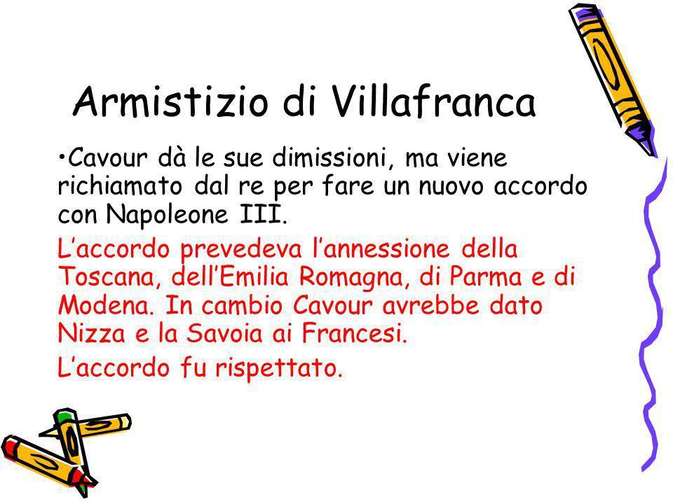 Armistizio di Villafranca