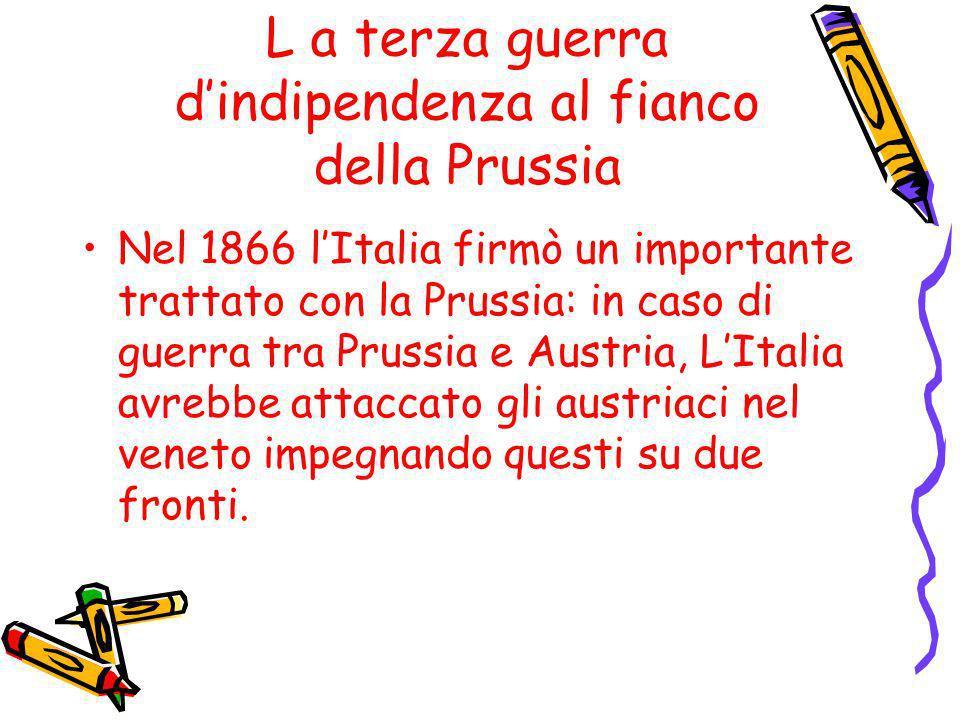L a terza guerra d'indipendenza al fianco della Prussia