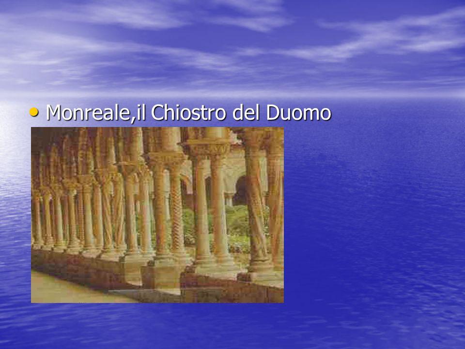 Monreale,il Chiostro del Duomo