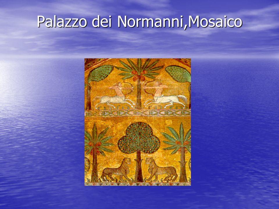Palazzo dei Normanni,Mosaico