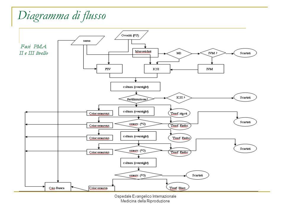 Diagramma di flusso linguauggio grafico di modellazione per la mappatura di processo. Ospedale Evangelico Internazionale.
