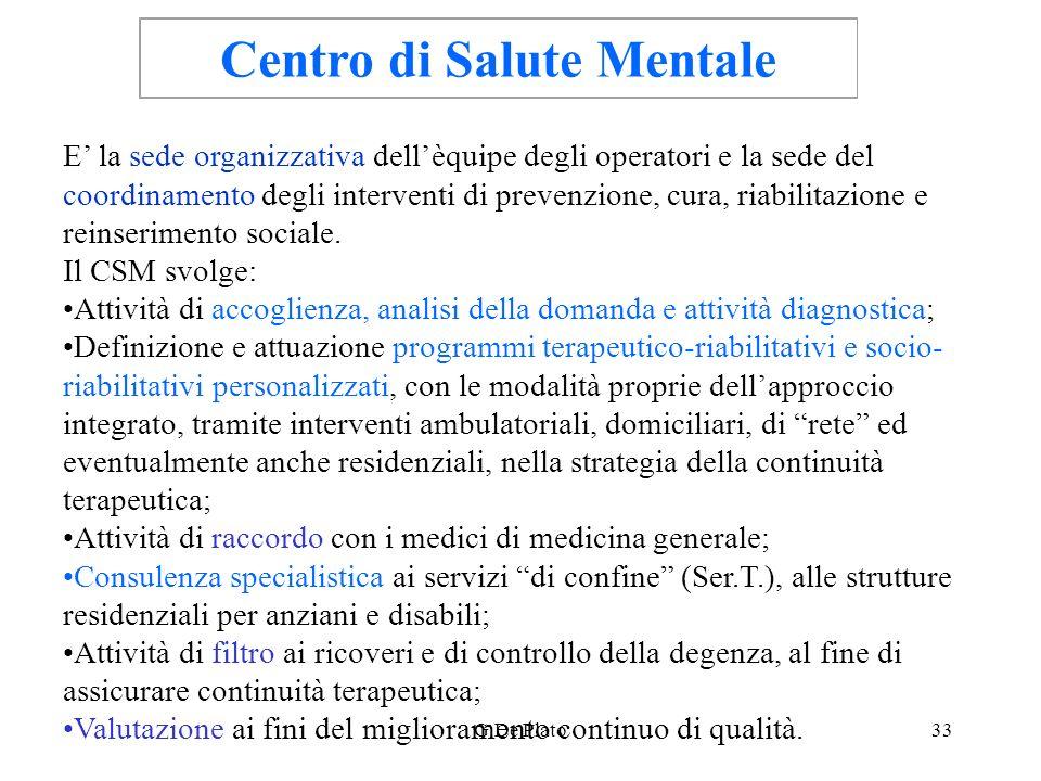 Centro di Salute Mentale