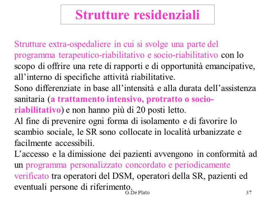 Strutture residenziali