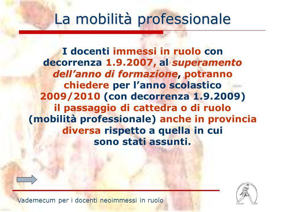 La mobilità professionale
