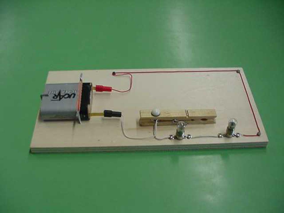 Circuito con lampade in serie