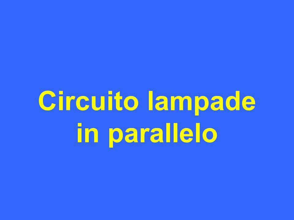 Circuito lampade in parallelo Campo Magnetico