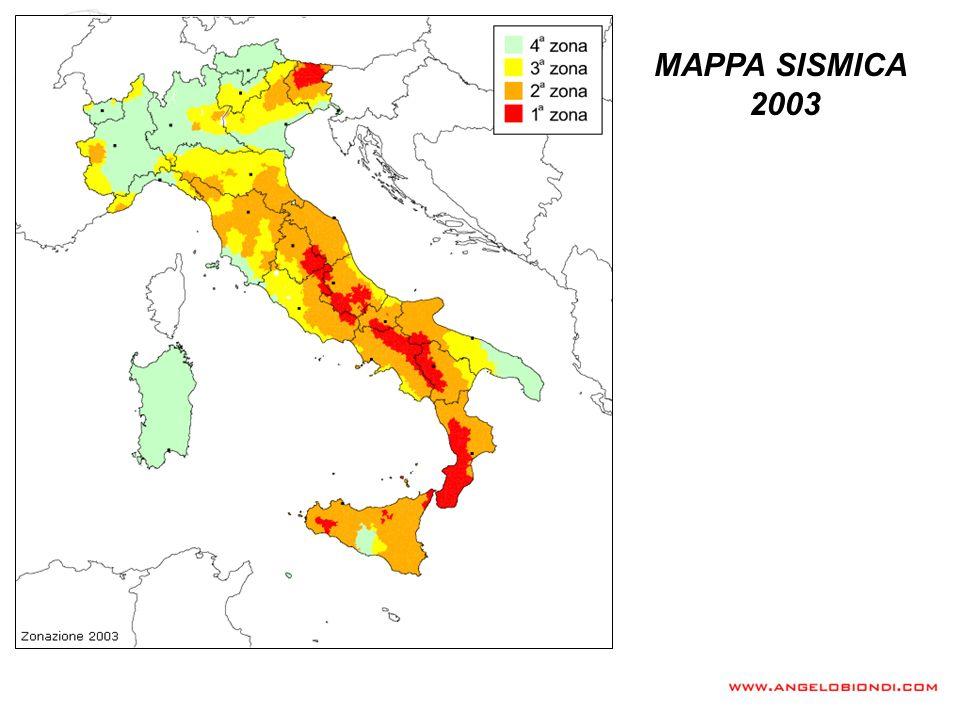 MAPPA SISMICA 2003