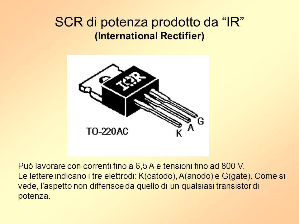 SCR di potenza prodotto da IR (International Rectifier)
