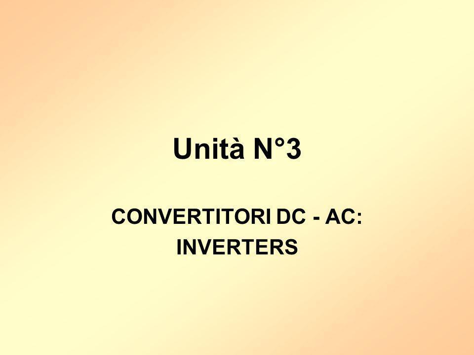 CONVERTITORI DC - AC: INVERTERS