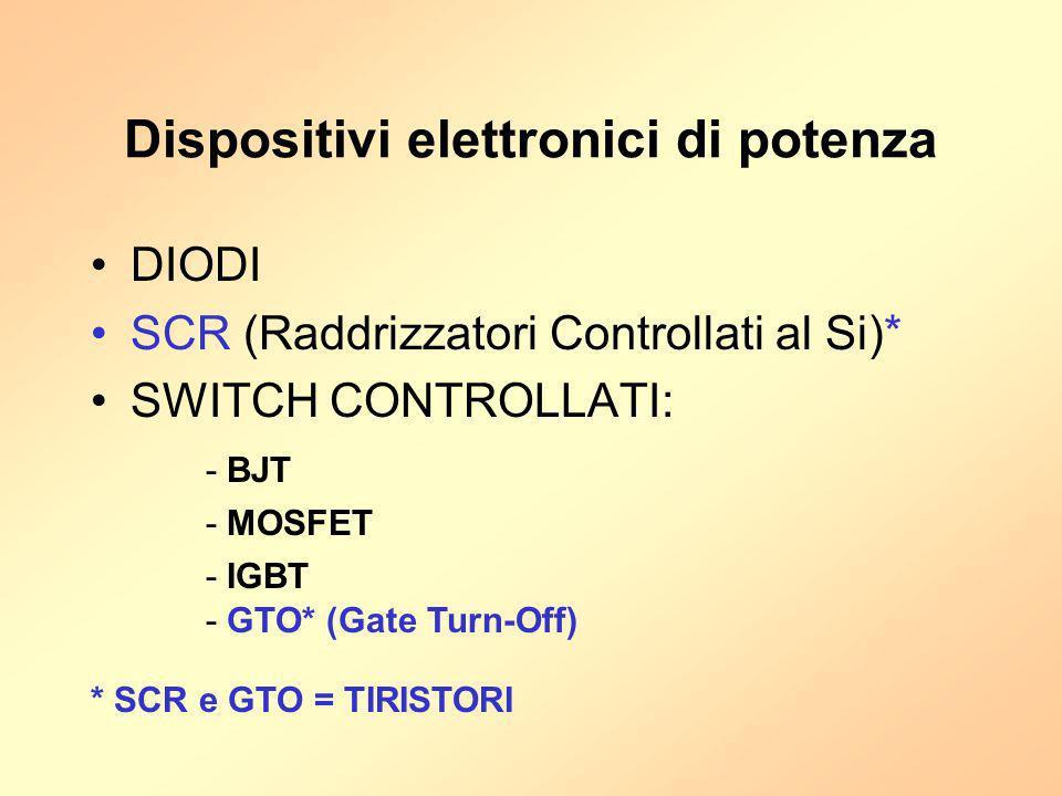 Dispositivi elettronici di potenza