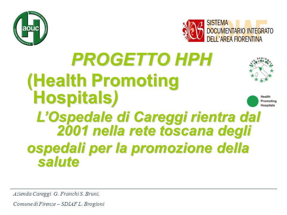 L'Ospedale di Careggi rientra dal 2001 nella rete toscana degli
