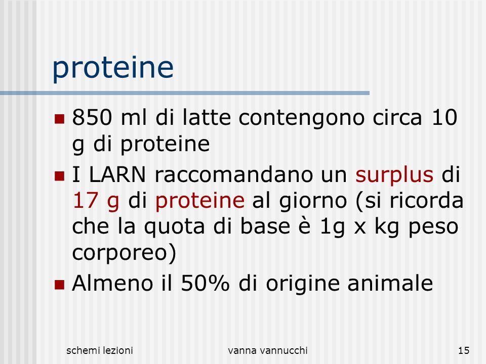 proteine 850 ml di latte contengono circa 10 g di proteine