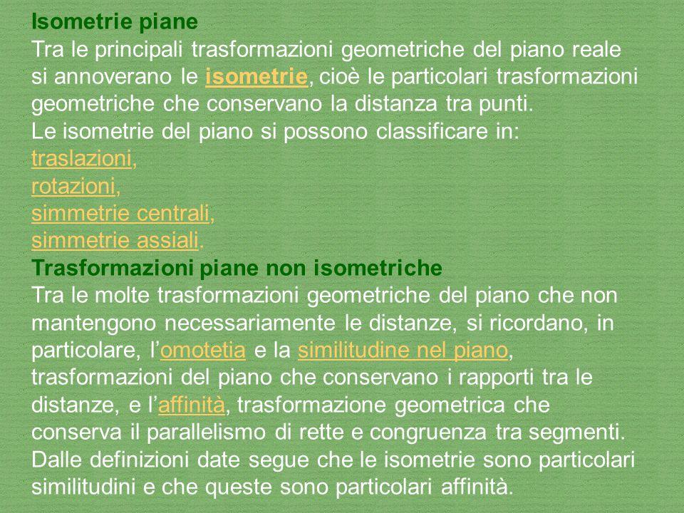 Isometrie piane