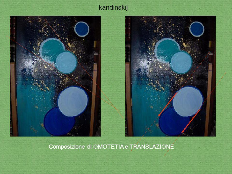 kandinskij Composizione di OMOTETIA e TRANSLAZIONE