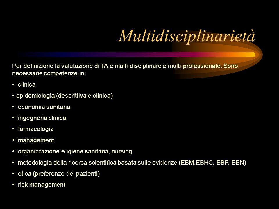 Multidisciplinarietà