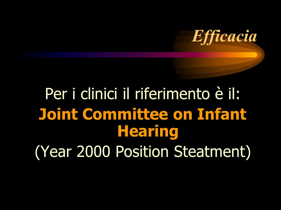 Joint Committee on Infant Hearing