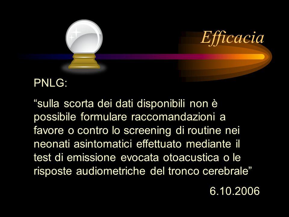 Efficacia PNLG: