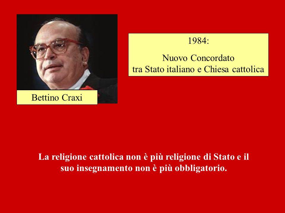 Nuovo Concordato tra Stato italiano e Chiesa cattolica