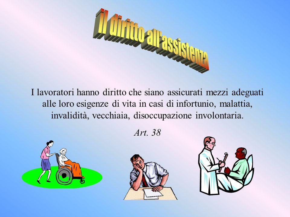 il diritto all assistenza