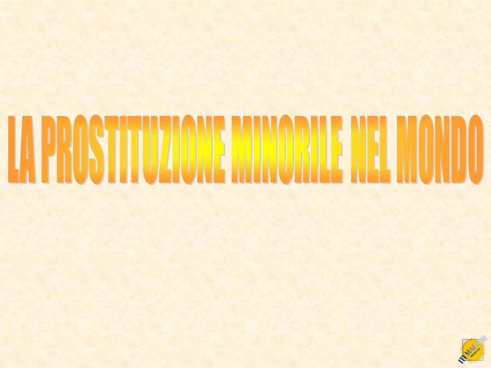 LA PROSTITUZIONE MINORILE NEL MONDO
