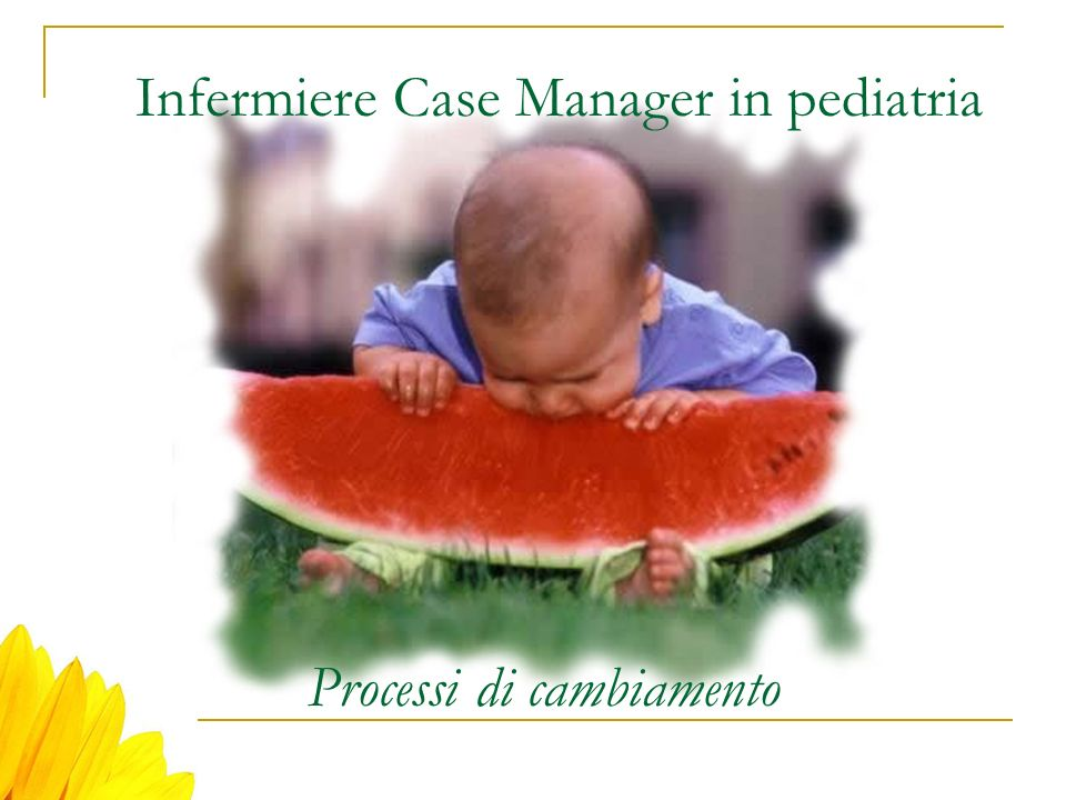 Infermiere Case Manager in pediatria
