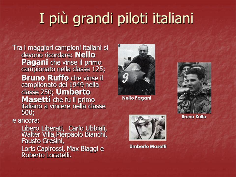I più grandi piloti italiani