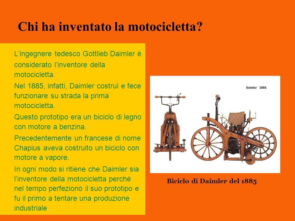 Chi ha inventato la motocicletta
