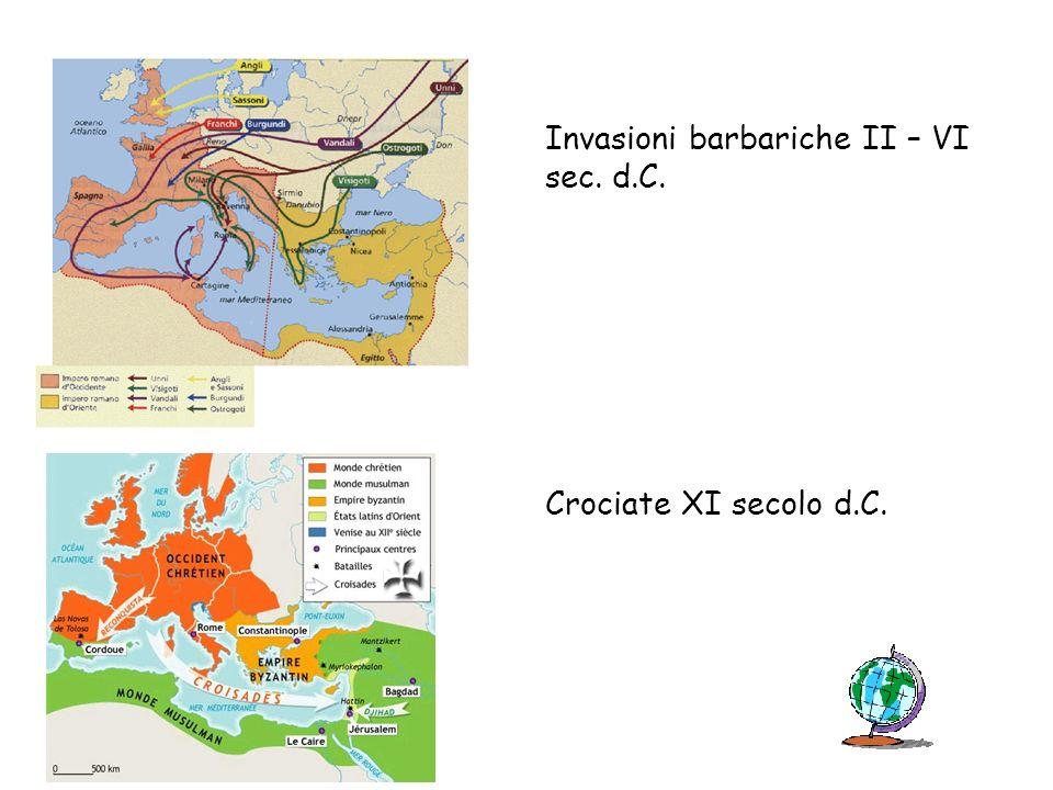 Invasioni barbariche II – VI sec. d.C.