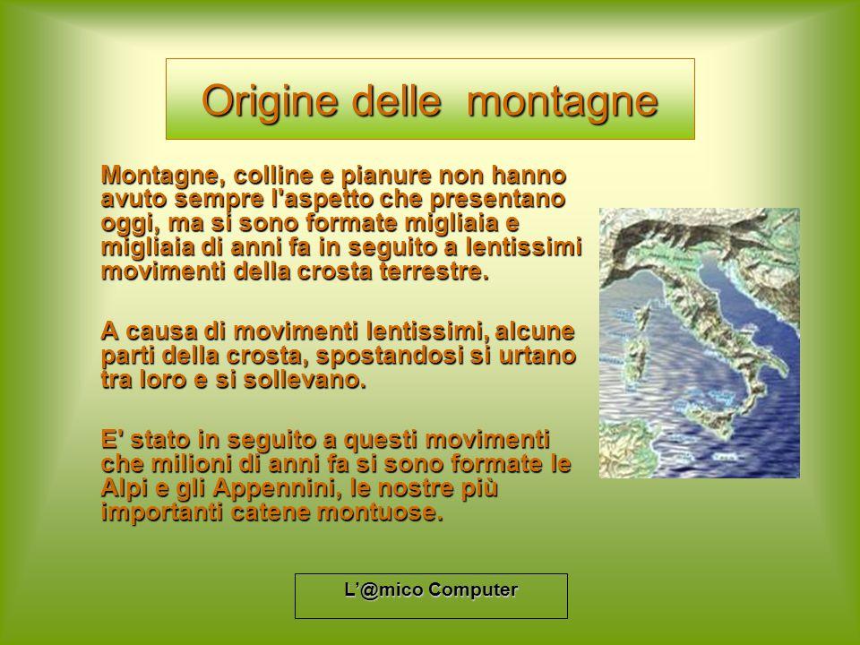 Origine delle montagne