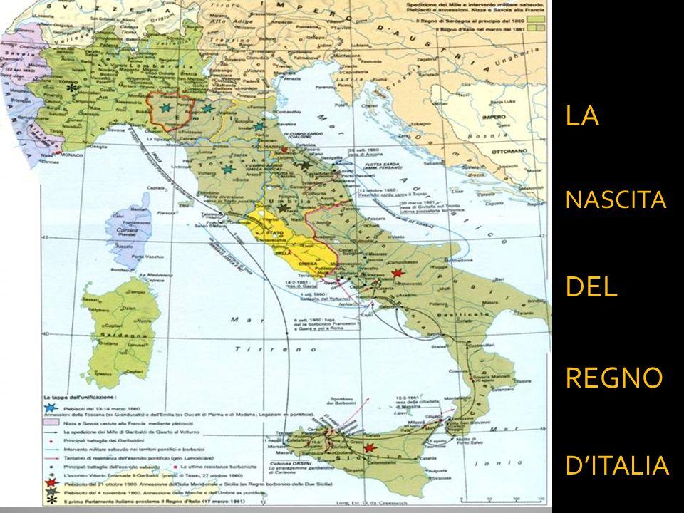 LA NASCITA DEL REGNO D'ITALIA 28/03/2017