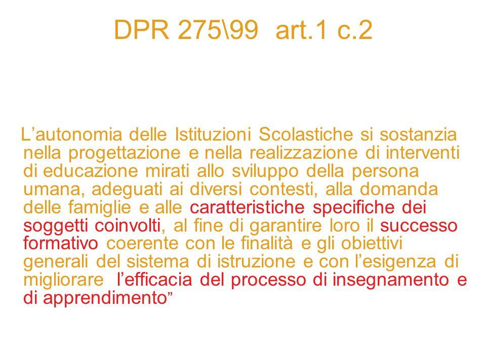 DPR 275\99 art.1 c.2