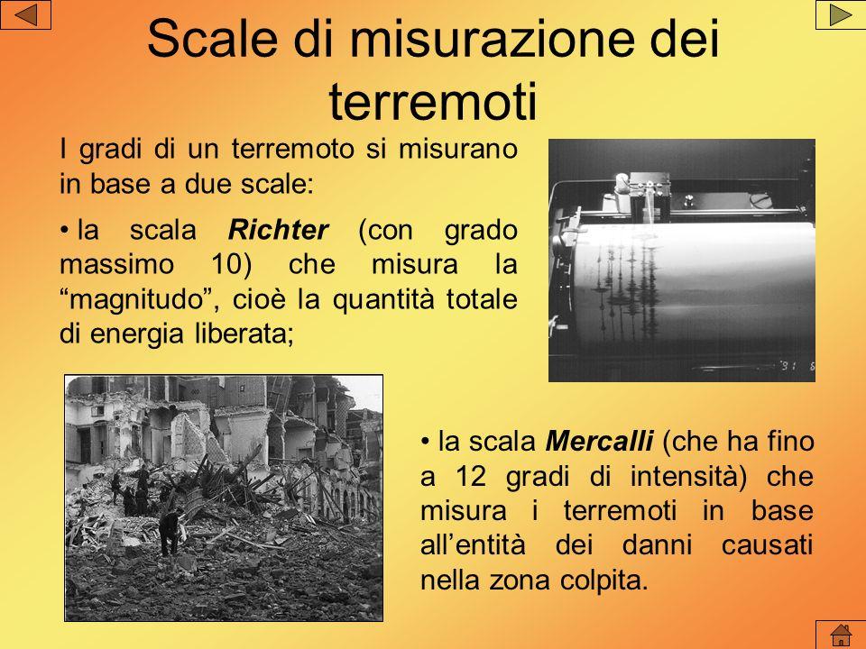 Scale di misurazione dei terremoti