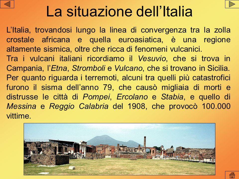 La situazione dell'Italia