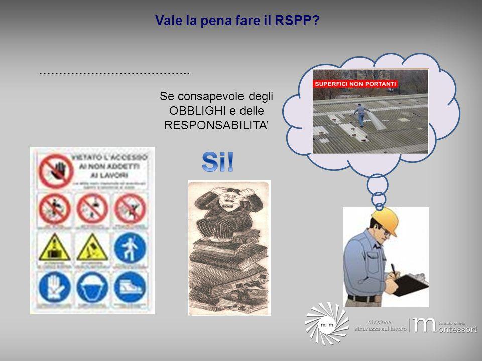 Vale la pena fare il RSPP