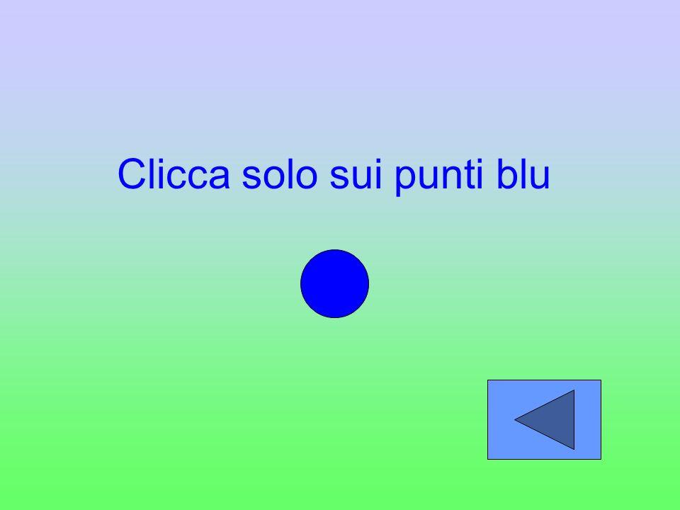 Clicca solo sui punti blu