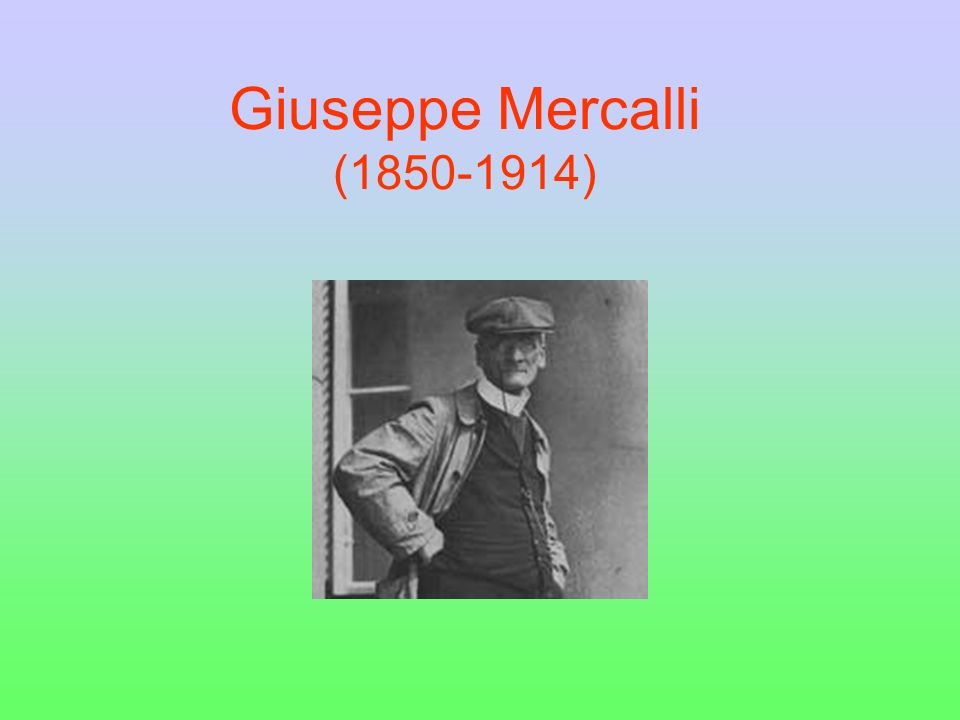 Giuseppe Mercalli (1850-1914)