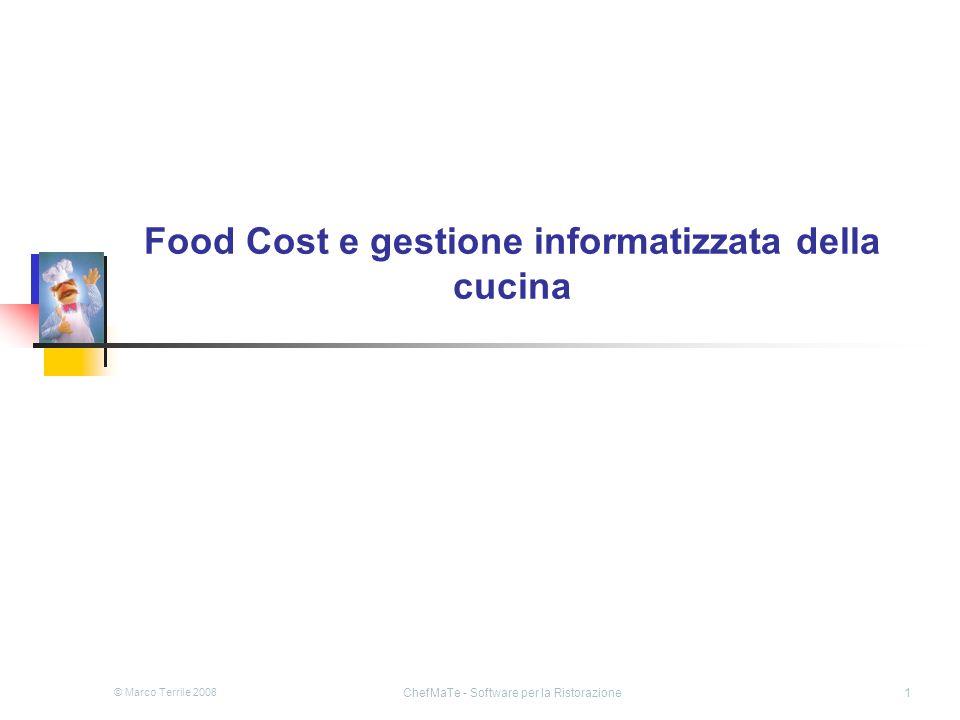 Food Cost e gestione informatizzata della cucina