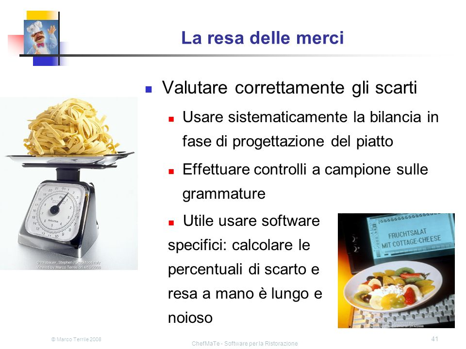 ChefMaTe - Software per la Ristorazione