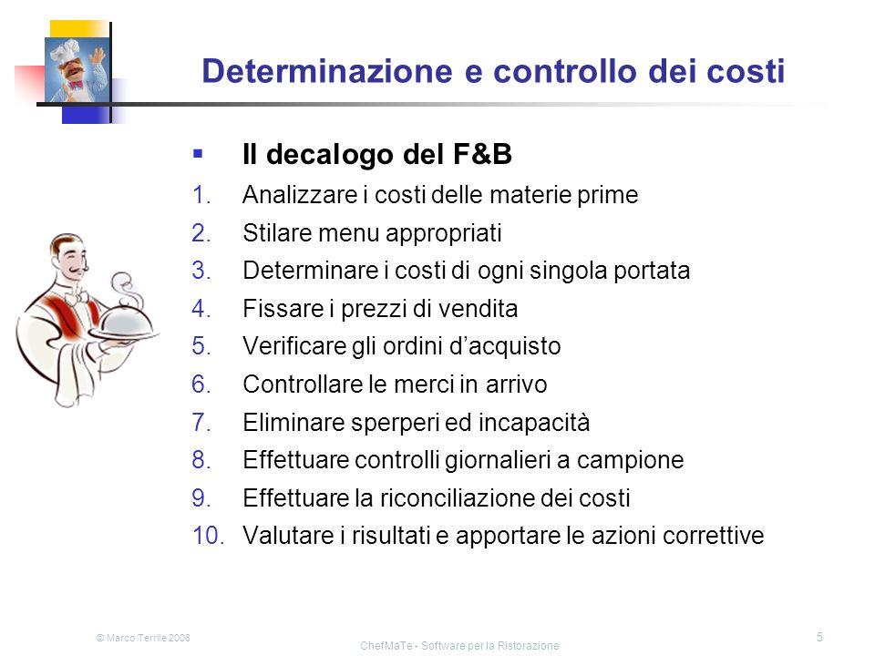 Determinazione e controllo dei costi