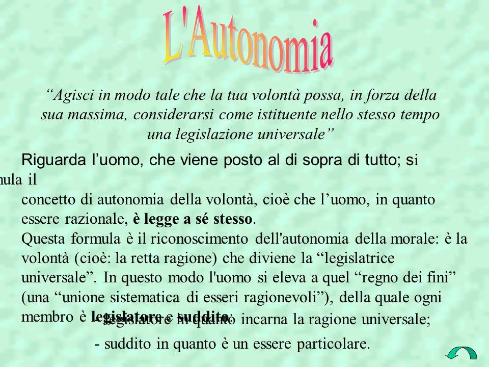 L Autonomia