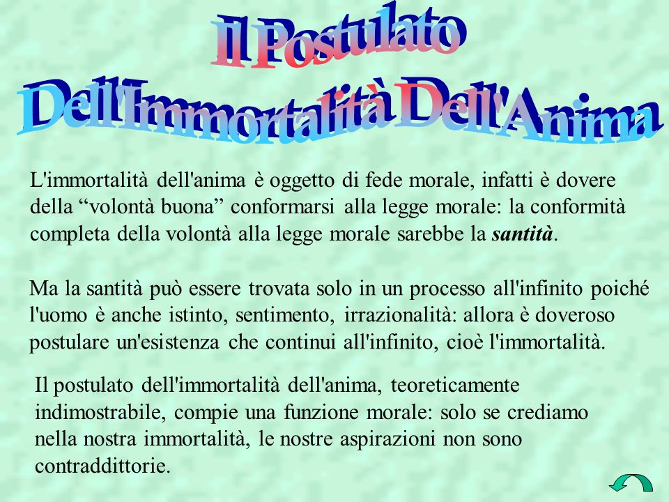 Dell Immortalità Dell Anima