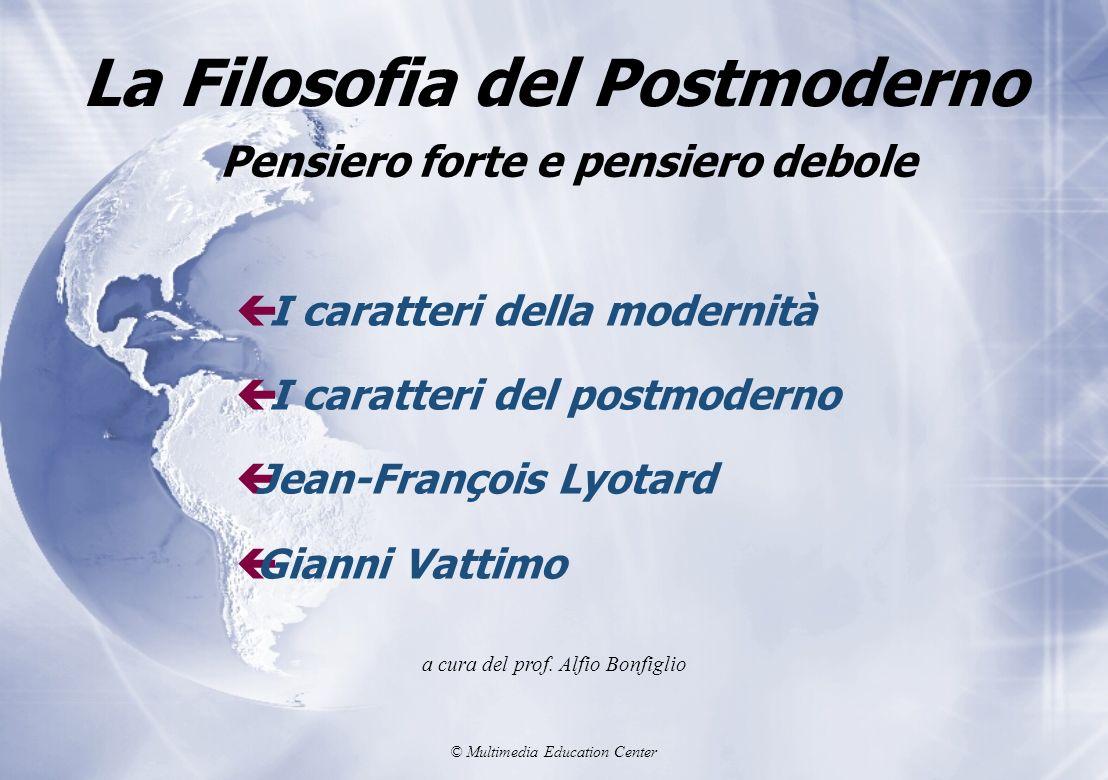 La Filosofia del Postmoderno