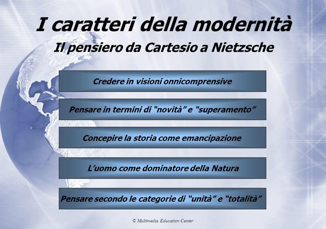 I caratteri della modernità