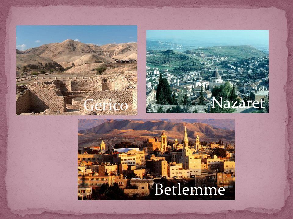 Nazaret Gerico Betlemme