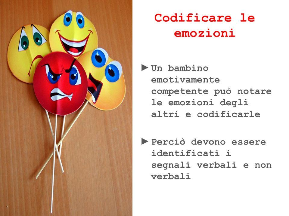 Codificare le emozioni